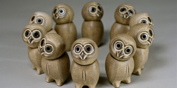The owl with turning head – the most popular creation by Heiner-Hans Körting.